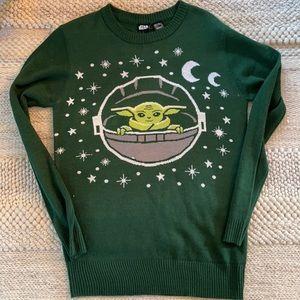 Baby Yoda Sweater.Size S